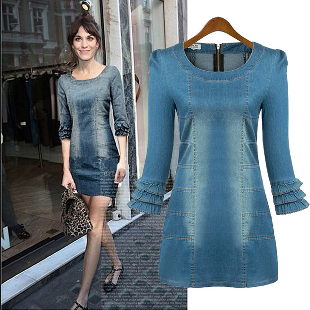 European style Vintage New Fashion Women's dress,Beautiful Slim