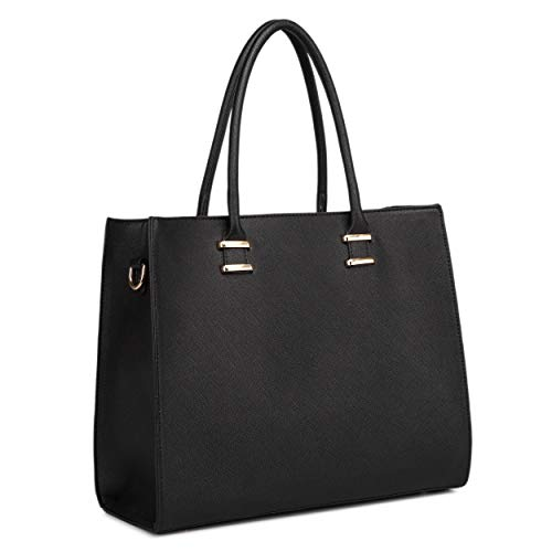 Large Black Handbags: Amazon.co.uk