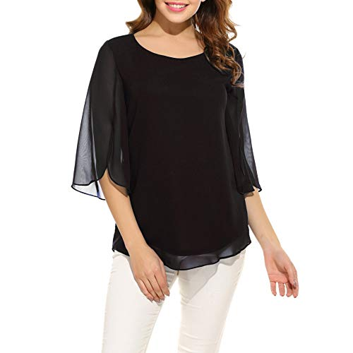 Cool Black Blouses: Amazon.com