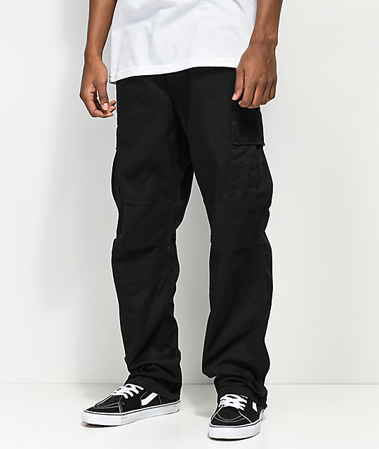 Rothco Tactical BDU Solid Black Cargo Pants | Zumiez