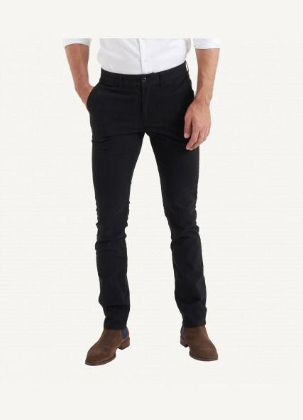 Shop The Charlie Chino - Black pants online in NZ - 3 Wise Men