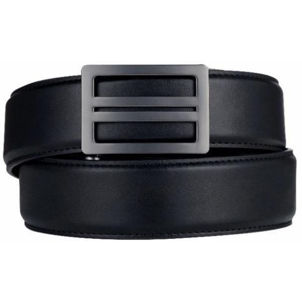 KORE Gun Belts | X1 Buckle & Black Reinforced Top-Grain Leather Belt