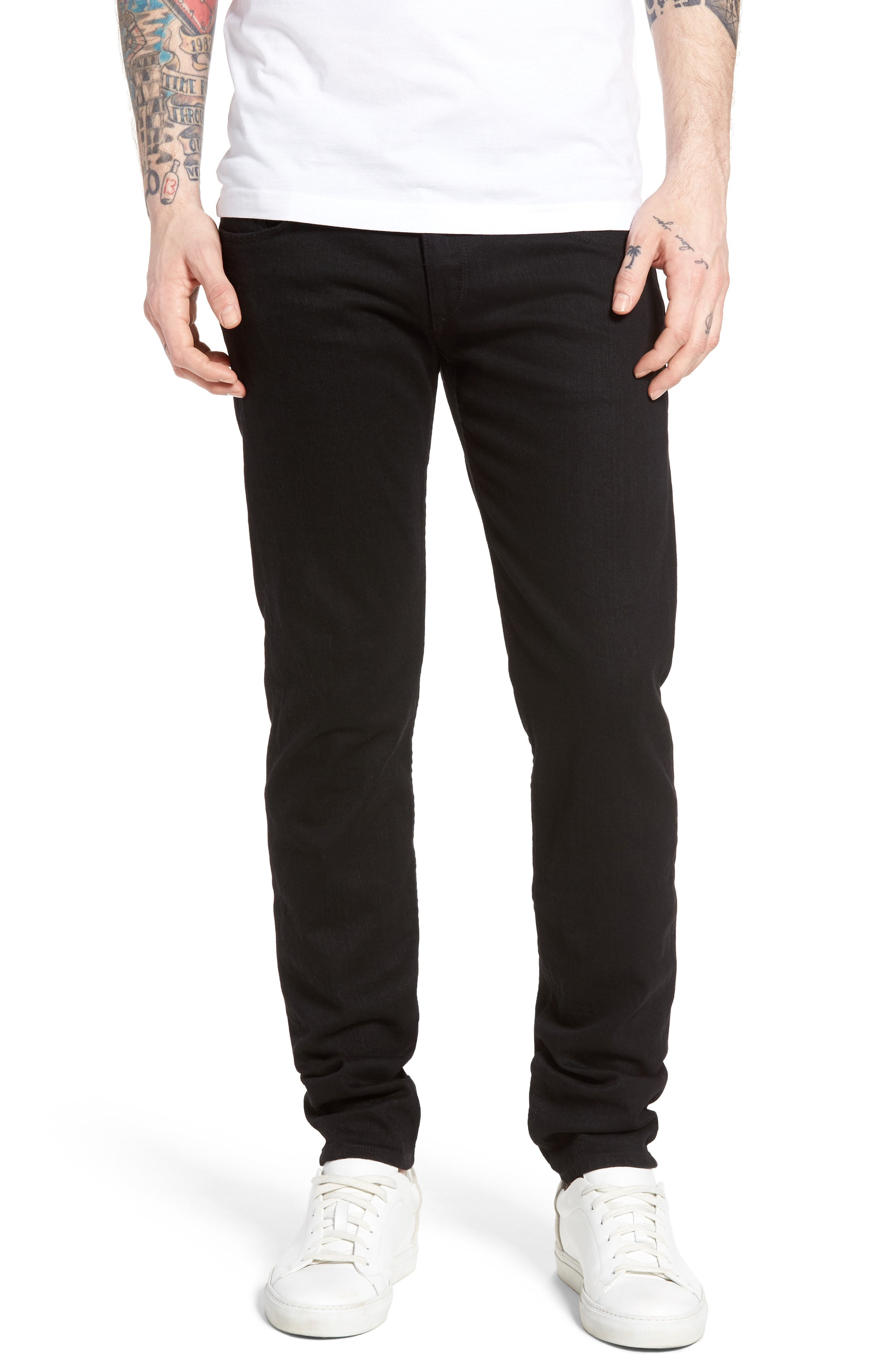 Men's Black Wash Jeans | Nordstrom