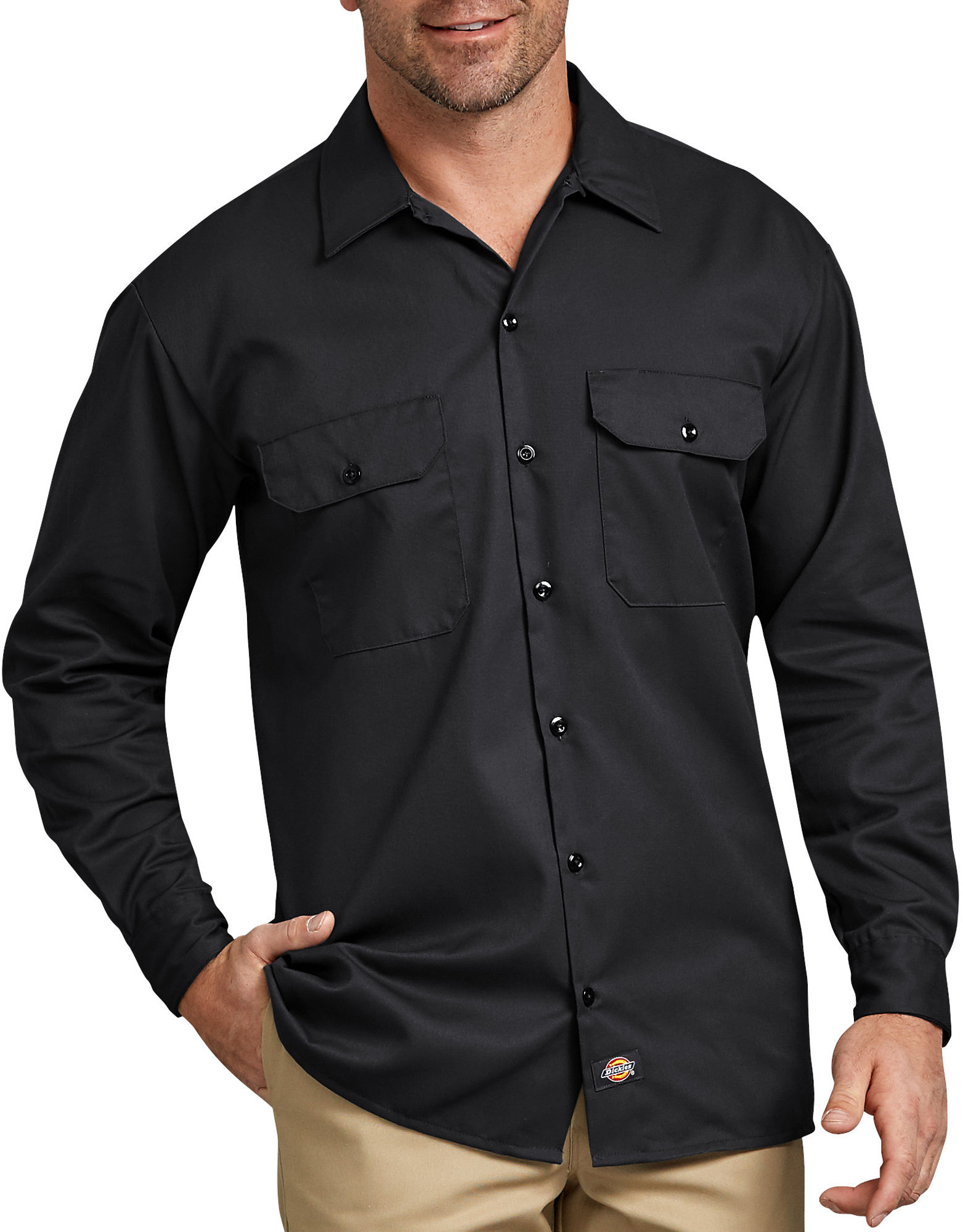 Long Sleeve Work Shirt | Mens Shirts | Dickies