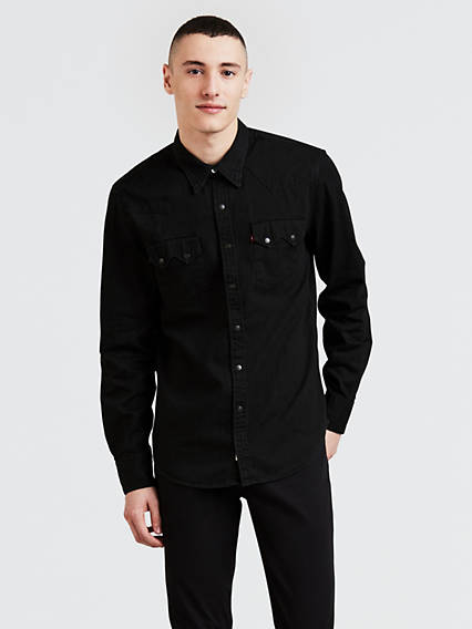 Men's Black Shirts | Levi's® US