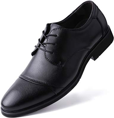Amazon.com | Marino Oxford Dress Shoes for Men - Formal Leather Mens
