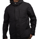 Black Men's Winter Jacket