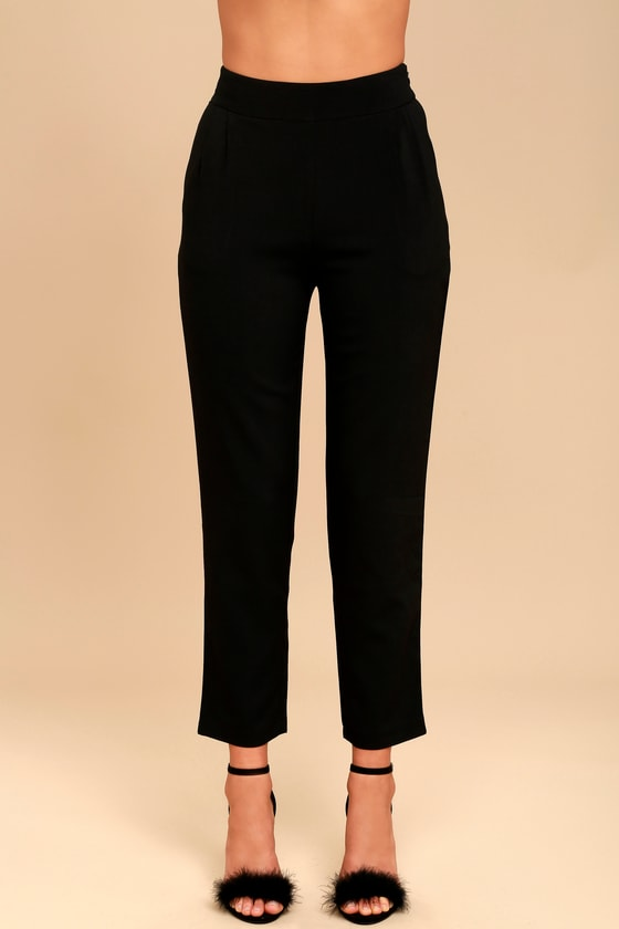 Chic Black Pants - Trouser Pants - Dress Pants