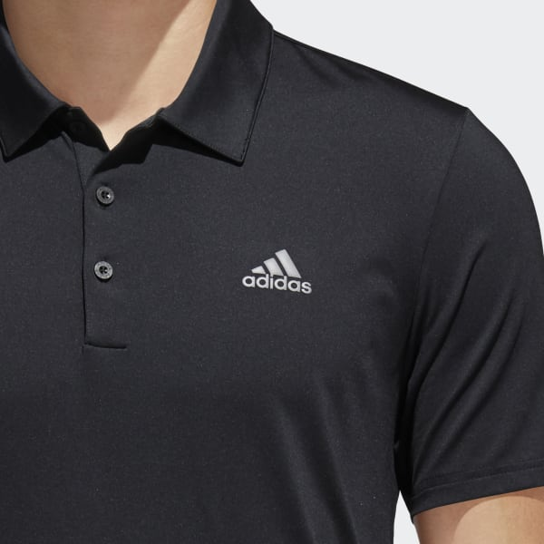 adidas Ultimate 365 Solid Polo Shirt - Black | adidas US