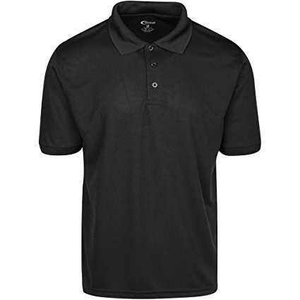 Amazon.com: Premium Mens High Moisture Wicking Polo T Shirts: Sports