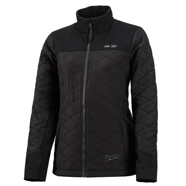 Milwaukee Women's M12 Black Heated Quilted Jacket