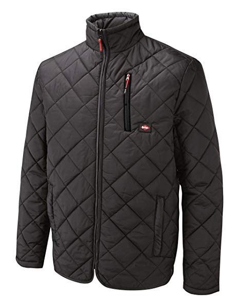 Amazon.com: Lee Cooper Men's Quilted Jacket - Black, Large by Lee
