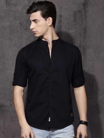Black Shirt - Buy Black Shirt online in India