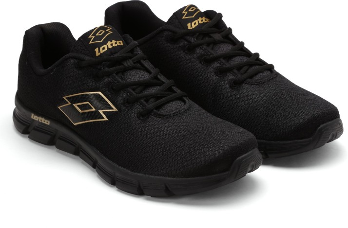 Lotto VERTIGO Running Shoes For Men - Buy Black Color Lotto VERTIGO