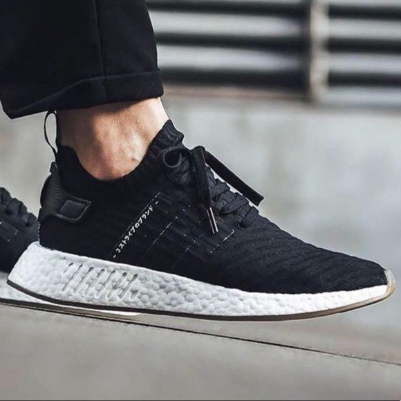 adidas Shoes | Nmd 2 Primeknit Japan Black Sneakers 95 | Poshmark