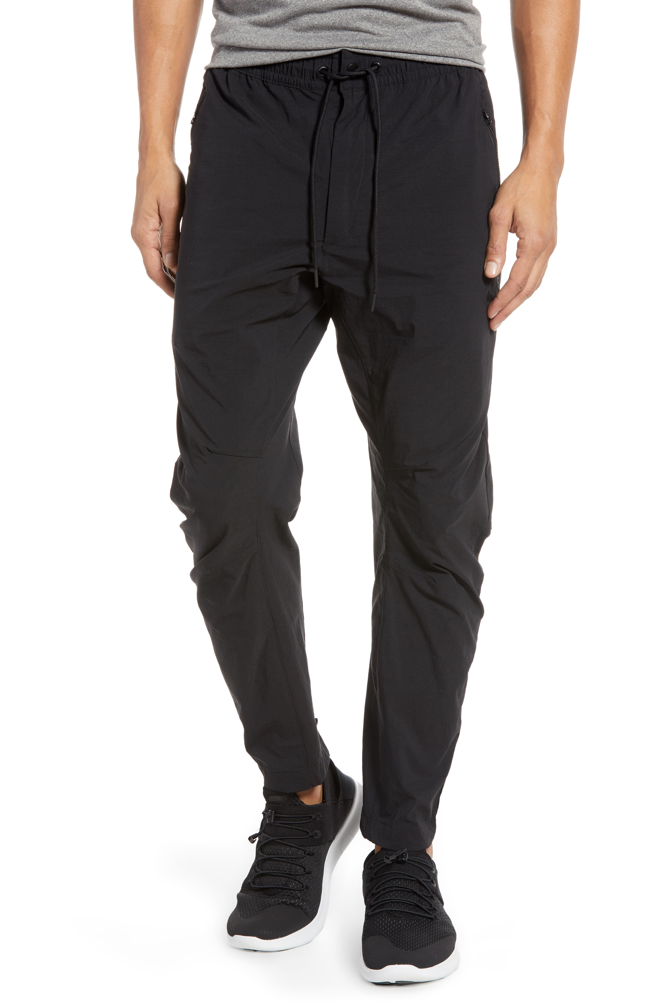 black stretch pants | Nordstrom