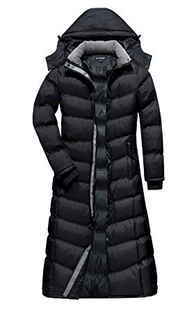 Amazon.com: U2Wear Women's Water Resistance Puffer Winter Full