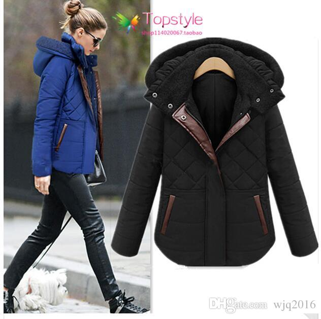 2016 Winter Coats Women Jackets Ladies Warm Jacket Coat Black Winter