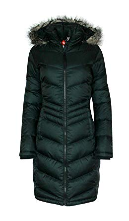 Amazon.com: Columbia Women Polar Freeze Long Down Jacket Omni Heat