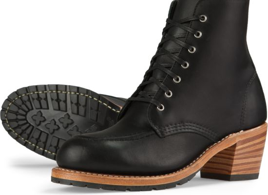 Women's 3405 Clara Black Leather Boot | Red Wing Heritage
