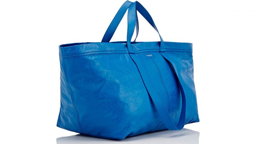 IKEA responds to Balenciaga's take on blue bag with spot-the