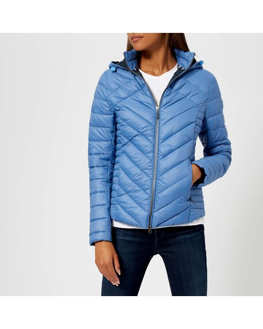 Lyst - Barbour Pentle Quilt Jacket in Blue