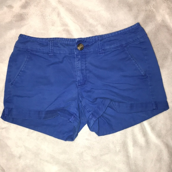 American Eagle Outfitters Shorts | American Eagle Blue | Poshmark