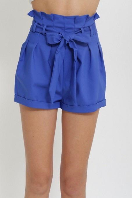 Royal Blue Shorts u2013 Balia Boutique