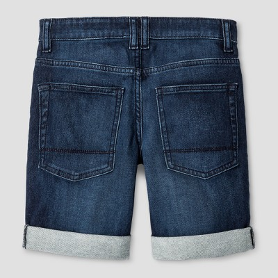 Boys' Jean Shorts - Cat & Jack™ Dark Blue : Target