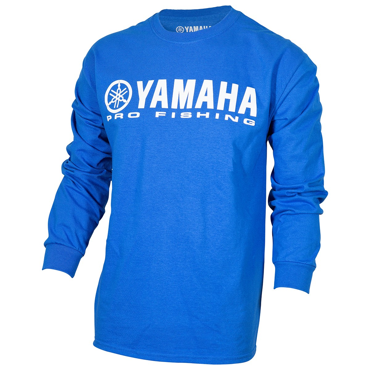 Yamaha - OEM Pro Fishing 100% Cotton Long Sleeve Blue T-Shirt
