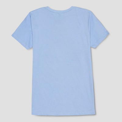 Men's Stranger Things Poster Short Sleeve T-Shirt - Pastel Blue : Target