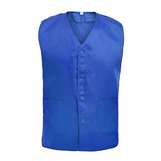 Amazon.com: TOPTIE Vest for Supermarket Clerk Work Uniform Vests