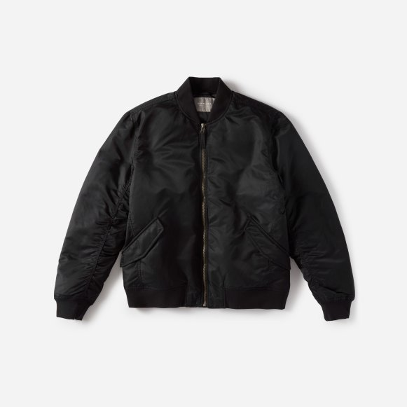 Men's Filled Nylon Bomber Jacket | Everlane