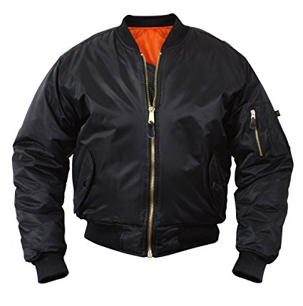 Amazon.com: Rothco MA-1 Flight Jacket: Sports & Outdoors