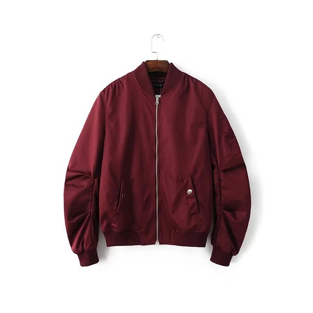 Red bomber jackets