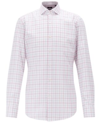 Hugo Boss BOSS Men's Jason Slim-Fit Cotton Shirt - Dress Shirts