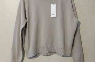 Vince Sweaters | Boxy Cashmere Sweater In Fossil | Poshmark