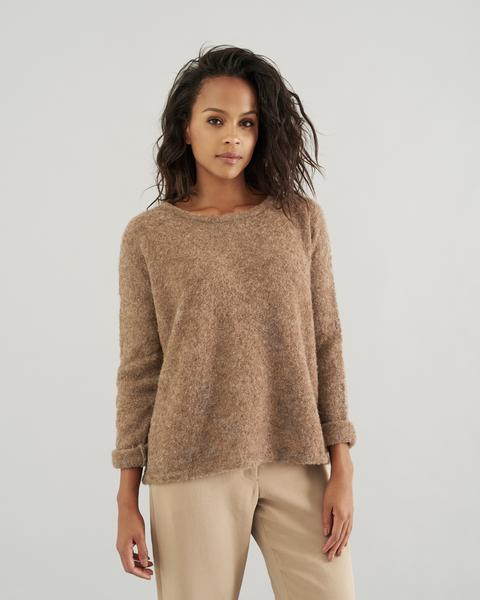 Boxy Pullover Sweater ($96)   My Style   Sweaters, Pullover sweaters