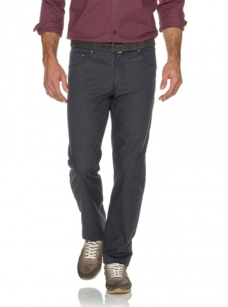 Brax Cooper Wool Look Trousers Grey in Brax Clothing Range