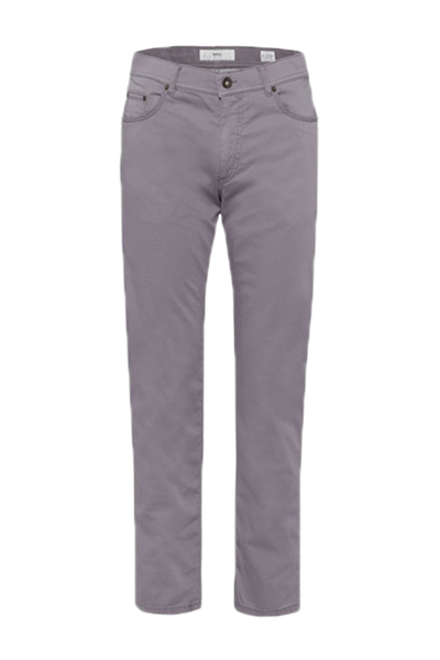 BRAX Men's Cooper Fancy Prestige Graphite Five Pocket Pants | The
