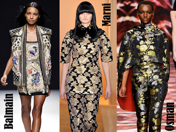 Baroque Brocade | a fashion friend
