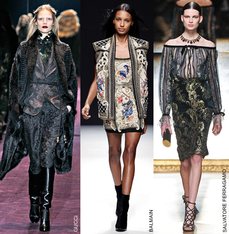 Fall Trend: Captivated By Brocade | FASHION