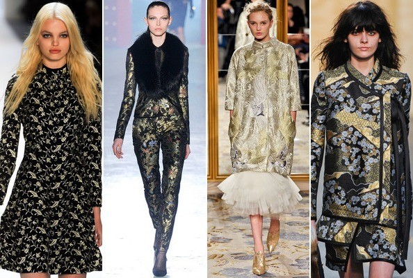 Brocade Beauties - The Top Trends From New York Fashion Week Fall