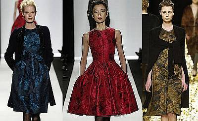 Couture Allure Vintage Fashion: Fall Fashion Trend - Brocade