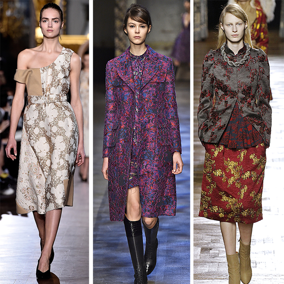 How to Wear Brocade | InStyle.com
