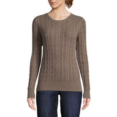 Brown Sweaters & Cardigans for Women - JCPenney