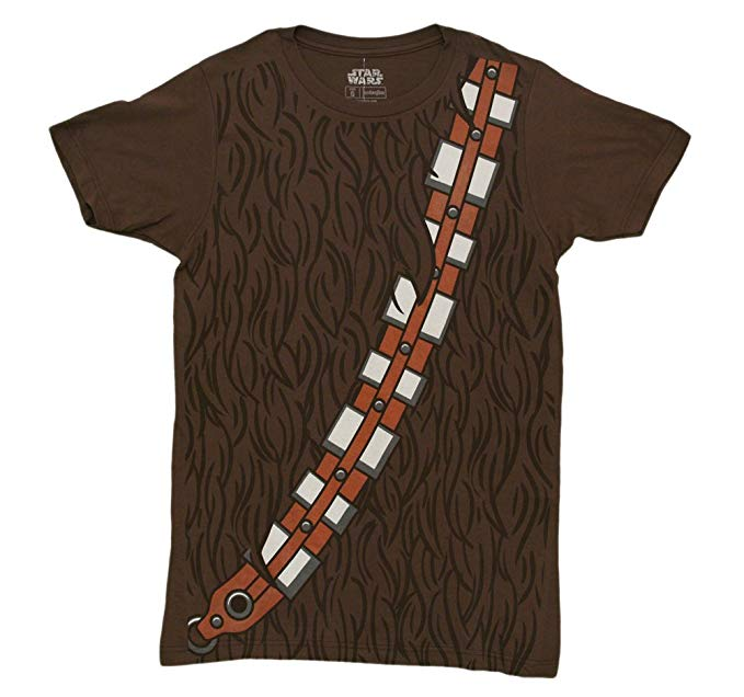 Amazon.com: Star Wars I Am Chewbacca Costume Adult T-Shirt: Clothing