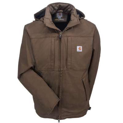 Carhartt Jackets: Men's Full Swing Cryder 102207 908 Brown Winter