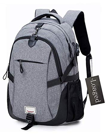Amazon.com: Anti-theft Laptop Backpack, Loaged Business Bags with