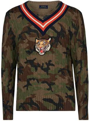 Men Camouflage Sweater - ShopStyle